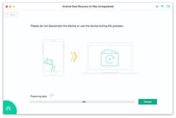 Backup-Daten von Android auf Mac