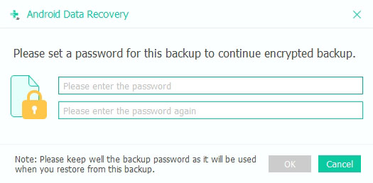 Encrypted Backup