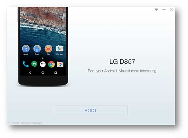 Install Stump Root APK on LG