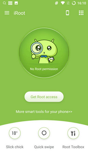 iRoot APKとルートのAndroid携帯