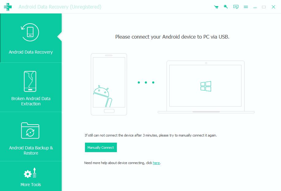 Connect Android Device to PC