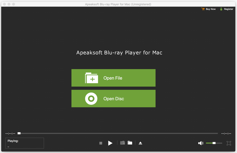 Apeaksoft Blu-ray Player for Mac