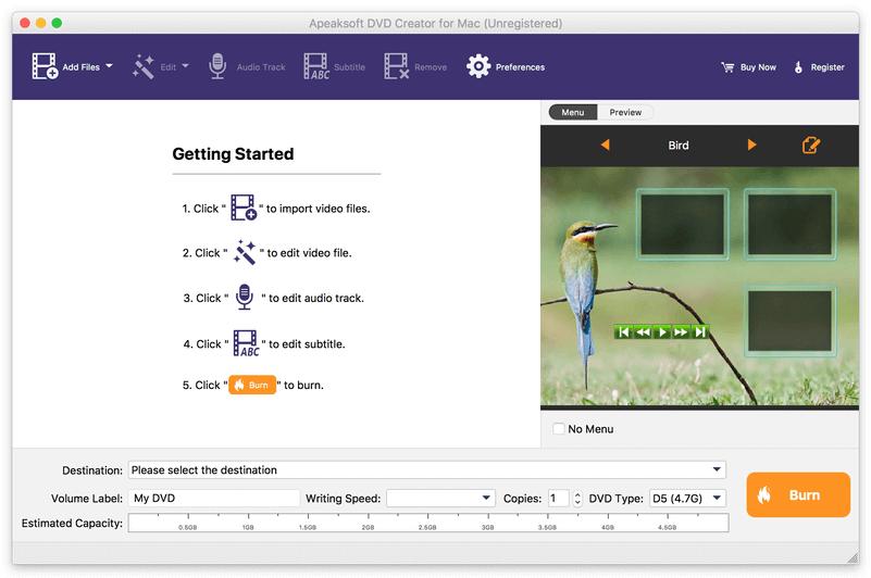Apeaksoft DVD Creator for Mac