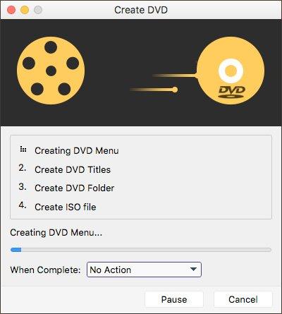 Graver une image sur un DVD
