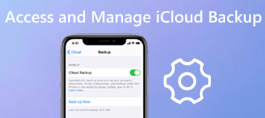 Access and Manage iCloud Backup