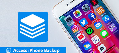 Accéder à l'iPhone Backup
