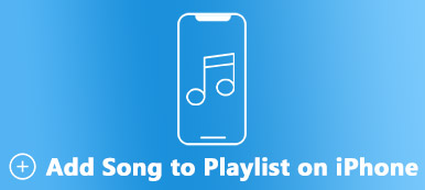 Add Song to Playlist on iPhone