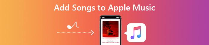 Hinzufügen von Songs zu Apple Music