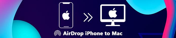 Airdrop iPhone à Mac