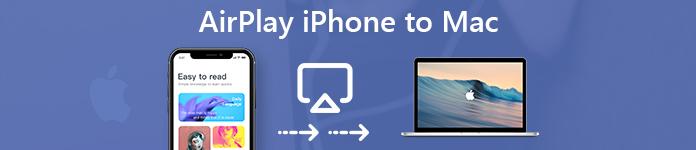 AirPlay iPhone à Mac