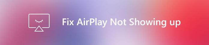 AirPlay zeigt sich nicht