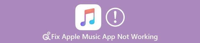 Apple Music App funktioniert nicht
