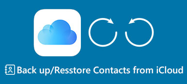 Back up Contacts to iCloud