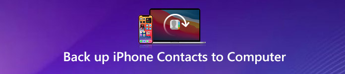 Back up iPhone Contacts to Computer