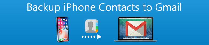 IPhone-Kontakte in Google Mail sichern