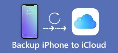 IPhone de sauvegarde sur iCloud