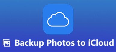 Sauvegarde des photos sur iCloud