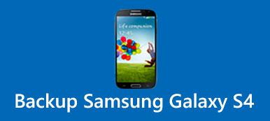 Sauvegarde Samsung Galaxy S4