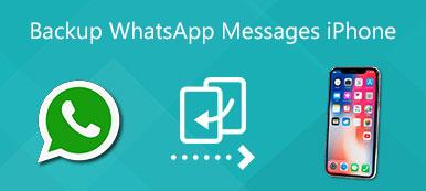 Sauvegarde des messages WhatsApp iPhone