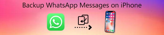 Sauvegarde des messages WhatsApp sur iPhone
