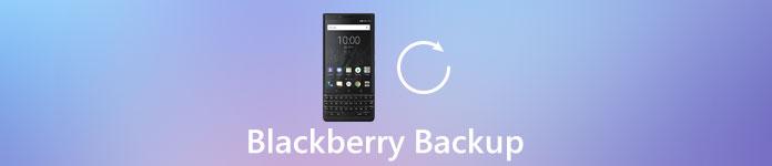 sauvegarde Blackberry