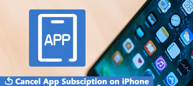 Cancel App Subsciption on iPhone