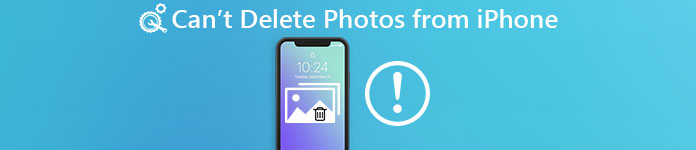Cant Delete Photos from iPhone