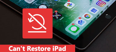 Impossible de restaurer l'iPad