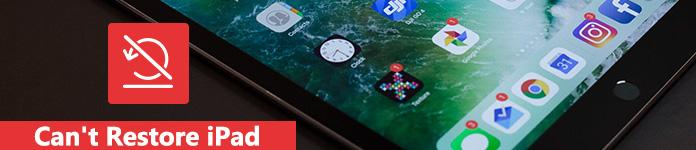 Das iPad kann nicht wiederhergestellt werden