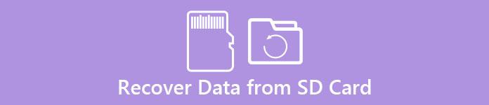 Wiederherstellen von Daten von Ihrer SD-Karte