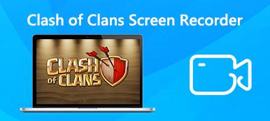 Clash of Clans Bildschirmrekorder