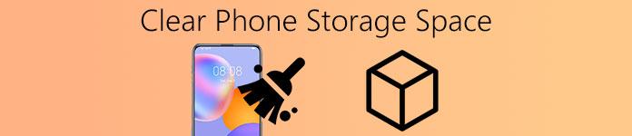 Effacer l'espace de stockage du téléphone sur Android