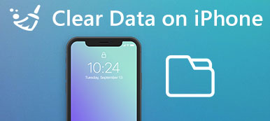 Clear Data sur iPhone