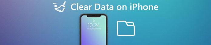 iPhoneでデータを消去する