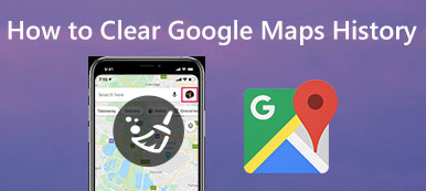 Clear Maps History and Destinations