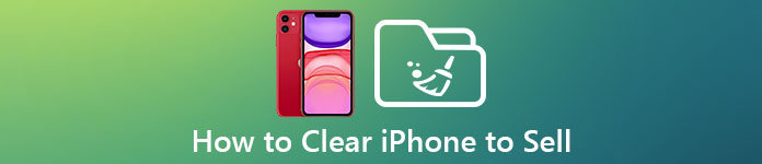 Clear iPhone to sell