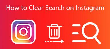 Effacer l'historique de recherche Instagram