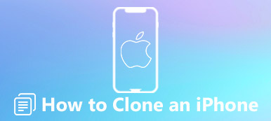 Cloner une donnée iPhone
