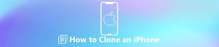 Cloner une donnée iPhone