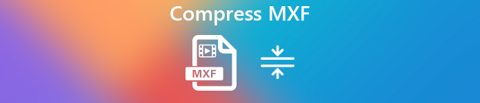 Compress MXF