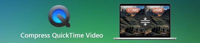 Compresser la vidéo QuickTime