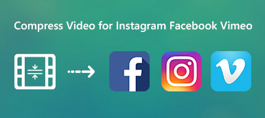 Compress Video for Instagram Facebook and Vimeo