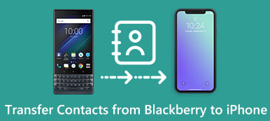 Transférer des contacts de BlackBerry à iPhone