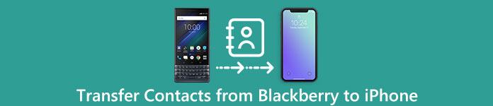 come copiare la rubrica da blackberry a iphone 8 Plus