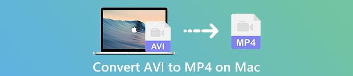 Convertir AVI en MP4 sur Mac