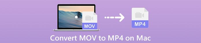 Convertir MOV en MP4 sur Mac