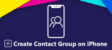 Create Contact Group on iPhone