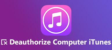 Supprimer l'autorisation iTunes