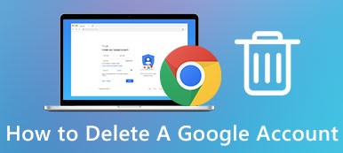 Supprimer le compte Gmail
