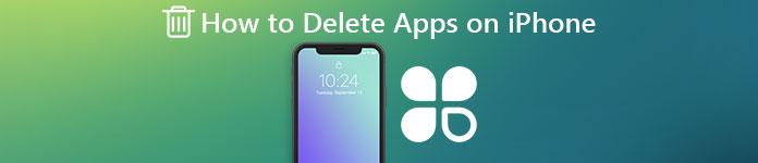 Supprimer des applications sur iPhone